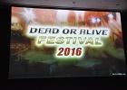 「DEAD OR ALIVE FESTIVAL 2016」レポート!激戦のアジア決勝からDOAX3&DOA5LR最新情報も紹介