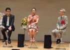 「ロマンシング佐賀3」のオープニングセレモニーに参加した河津氏、小林氏、市川氏に「サガ」インタビュー