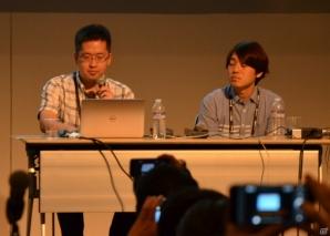 左から岡本仁志氏、平山航介氏