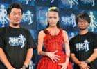 中島美嘉さんがゾンビに変身!2DアクションRPG「追憶の青」リリース直前発表会の模様をレポート