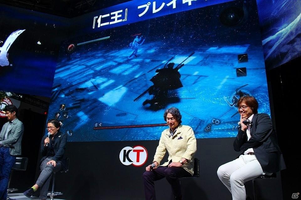 【TGS 2016】PS4「仁王」紹介ステージに開発の中心人物が集結―安田ディレクターのプレイには思わぬ野次も?