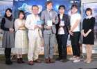 岡村佳人氏、ゆーげん氏、本渡楓さんらがゲームの魅力を紹介した「フィリスのアトリエ ~不思議な旅の錬金術士~」発表会
