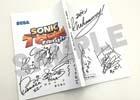 3DS「ソニックトゥーン ファイアー&アイス」サイン入り台本などソニック関連レアグッズが当たるキャンペーンが実施決定!