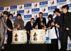 ビートたけしさん、藤原竜也さん、小栗旬さんら豪華キャスト陣が集結した「龍が如く6 命の詩。」の完成披露会をレポート