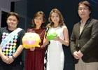 MisaChiaの2人と来場者との対戦や抽選会で盛り上がった3DS「ぷよぷよクロニクル」発売記念イベントをプレート