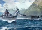 PC「World of Warships」にアニメ「ハイスクール・フリート」から晴風とグラーフ・シュペーが参戦決定!