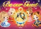 iOS/Android「LINE プレイ」にディズニー・「美女と野獣」モチーフの公式スクエアが登場!舞踏会場でダンスゲームに参加しよう