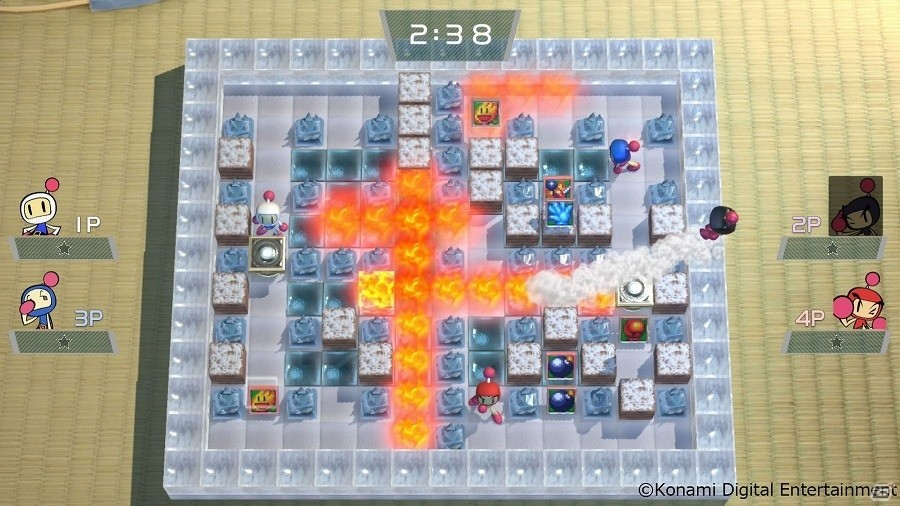 Nintendo Switch「スーパーボンバーマンR」ゲーム内ショップにてステージやアクセサリーなどの配信が開始!