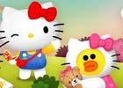 iOS/Android「LINE バブル2」にて「ハローキティ」とのコラボレーションが開始!キティのお友だちも大集合