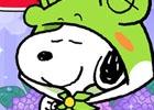 「スヌーピードロップス」が梅雨をイメージしたレイニーデザインに!カエルのレインコートを着たスヌーピーも登場