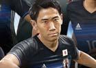 PS4/PS3「ウイニングイレブン 2018」のパッケージはサッカー日本代表!新アンバサダーにルイス スアレス選手が就任
