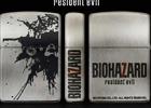 「バイオハザード」のロゴやタイトルが刻印されたZippoライター3種が8月下旬に発売!