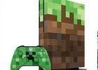 「Minecraft」をイメージしたデザインの「Xbox One S 1TB」本体とコントローラー2製品が10月5日に発売