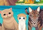 猫ちゃんしかいない無人島で暮らすパズルゲーム―iOS/Android「ねこ島日記」の事前登録がスタート!