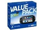 PS Vita本体と16GBのメモリーカードがセットになった「PlayStation Vita 16GB バリューパック」が11月22日発売