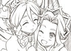 PS4/PS Vita/Switch「あなたの四騎姫教導譚」店舗別予約特典の描き下ろしイラストラフが公開!