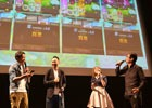 「ワンダーグラビティ」「コトダマン」などセガゲームスのスマートフォン向け新作3タイトルがお披露目された発表会をレポート
