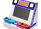 Nintendo Switchを差し込むとアーケード筐体に様変わり!?ゲーセン気分が楽しめる折りたたみスタンドが登場