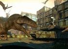 VRガンシューティング「DINOSAUR COMMANDO」がゲームランド津田沼店に登場!最大4人で協力して迫りくる恐竜から街を守れ