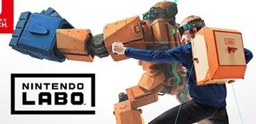"""ダンボールで自分だけの""""Toy-Con""""を工作!Switch「Nintendo Labo」が2018年4月20日発売"""