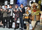 ハンターたちが早朝の渋谷に集合!井上聡さん、歌広場淳さんも駆けつけた「モンスターハンター:ワールド」発売記念カウントダウンイベントをレポート