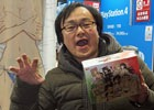 PS4「閃乱カグラ Burst Re:Newal」先行体験会場で爆乳プロデューサー・高木謙一郎氏にHDリニューアルのポイントを聞いた