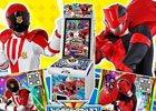 """最新スーパー戦隊""""快盗VS警察""""の「データカードダス」が登場!番組と連動したカード配信機能を搭載"""