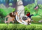 カートゥーン調の世界で描かれるコミカルアドベンチャー「Sir Eatsalot」4月6日、PS Vita向けに発売