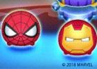 「LINE:ディズニー ツムツム」アイアンマン、スパイダーマンなどマーベルシリーズのツムが初登場!