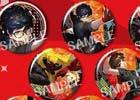「ペルソナ3 ダンシング・ムーンナイト」「ペルソナ5 ダンシング・スターナイト」特別課外活動部と心の怪盗団の缶バッジが登場!