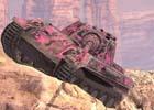 iOS/Android「World of Tanks Blitz」車両を自分色に染めよう!ピンク色の迷彩が登場