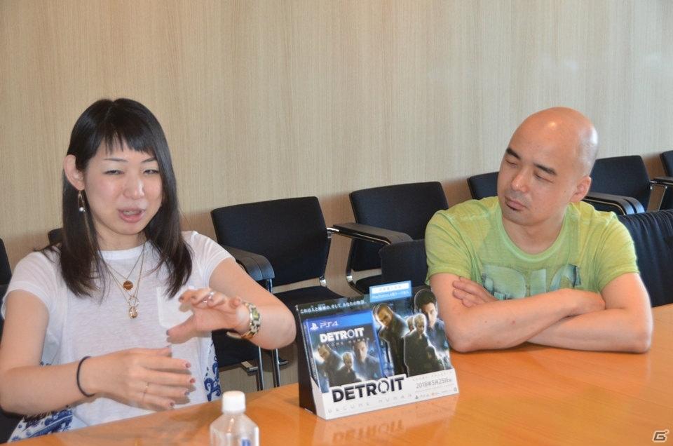 ローカライズチームが感じた「Detroit: Become Human」の魅力とは―石立大介氏&谷口新菜氏インタビュー