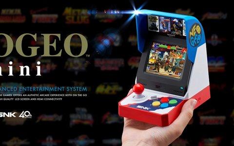 「NEOGEO mini」が2018年夏に発売決定!公式サイトやプレゼンテーション映像も公開に