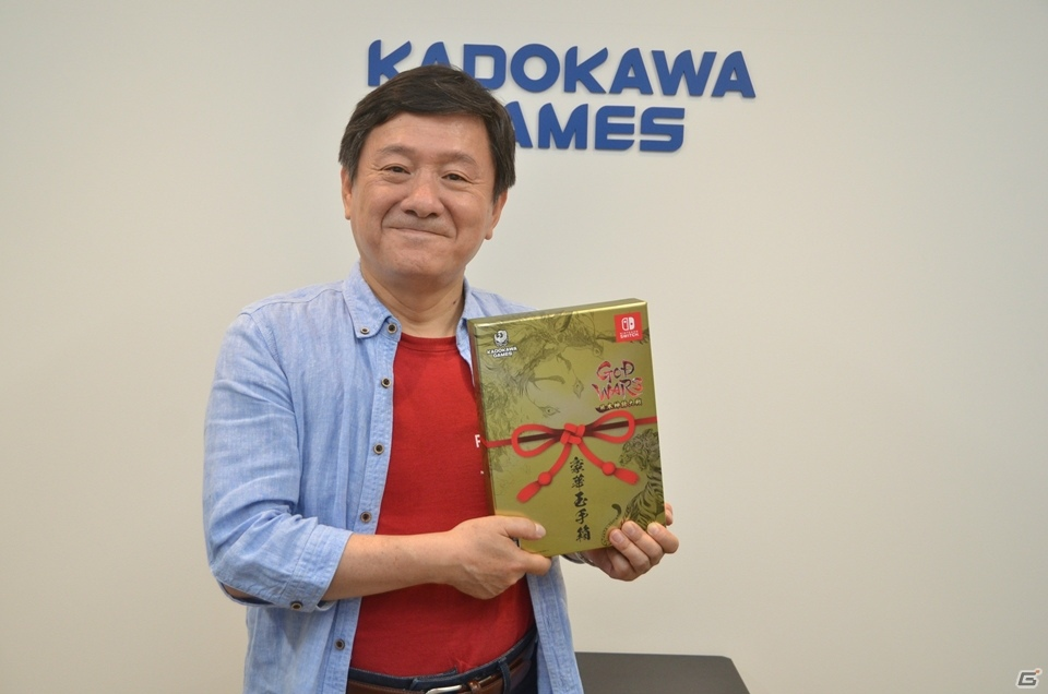 死ぬ前に一つ自由に作品を作れるなら、タクティクスRPGを選ぶ!?「GOD WARS 日本神話大戦」安田善巳ディレクターインタビュー