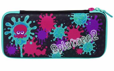キュートなデザインなのに本体をしっかり守ってくれる「Splatoon2 ハードポーチ for Nintendo Switch インク×タコ」が2018年7月に発売!