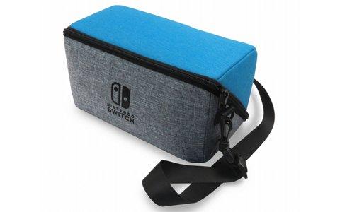 収納に便利な「プッシュカードケース6」や持ち運びに最適な「まるごと収納ショルダーバッグ」など、Nintendo Switch関連アクセサリが一挙に登場!