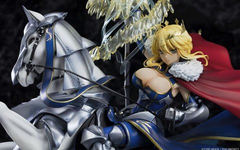 """最果てより光を放て―「Fate/Grand Order」より""""獅子王""""が立体化!「ランサー/アルトリア・ペンドラゴン」本日より予約開始"""