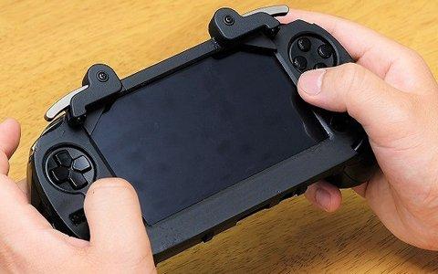 初期型PS Vita用のL2/R2後付け前面ボタン開発の支援者を募る、クラウドファンディングがスタート!