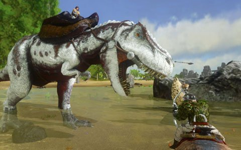 恐竜や古代生物たちと共に暮らすサバイバルアクション「ARK: Survival Evolved」のスマートフォン版が日本向けに2018年7月に配信予定
