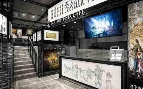 「SQUARE ENIX CAFE」にて「OCTOPATH TRAVELER」とのコラボカフェが6月30日から開催!紹介映像 総集編も公開に