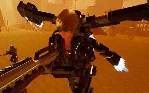 "PS4「EARTH DEFENSE FORCE: IRON RAIN」新たな侵略兵器や主人公が属する""ブラスト小隊""を紹介!"