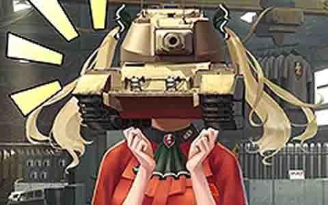 「World of Tanks Blitz」にて恋愛SLG「戦車頭女子~君の笑顔が見たくて~」が公開!