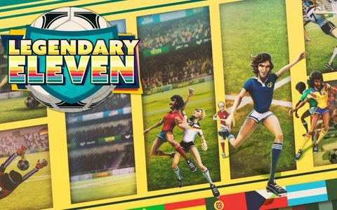 Switch「Legendary Eleven」が配信開始―70年代~90年代のサッカー界にインスパイアされたアーケードサッカーゲーム