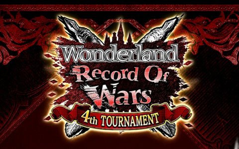 「Wonderland Wars」第四回公式全国大会「Wonderland Record Of Wars ~4th TOURNAMENT~」が開催決定!