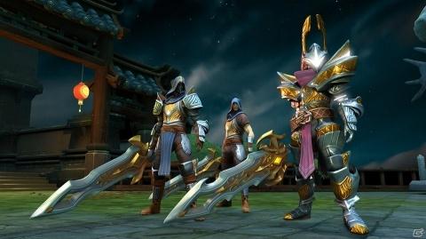 オンライン専用ハクスラアクションRPG「ダーククエスト5」PS4/PS Vita版の配信が本日より開始!