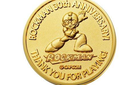 「ロックマン」&「ストリートファイター」シリーズ30周年を記念した純金メダル/インゴットなどが発売