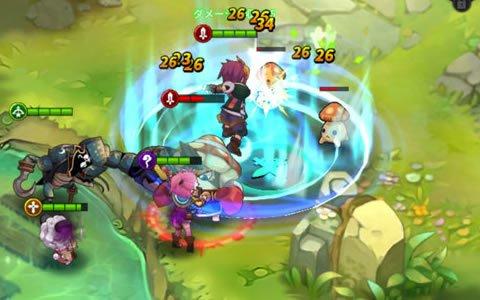 敵を戦略的にまとめて一気に倒す爽快感!まとめ狩りアクションが楽しいアクションRPG「グランドチェイス -次元の追跡者-」