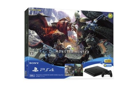 「PlayStation 4 MONSTER HUNTER: WORLD Value Pack」数量限定で7月26日に発売!