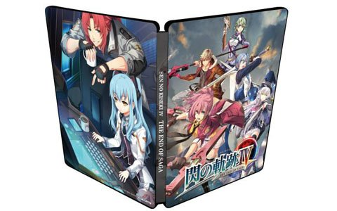 PS4「英雄伝説 閃の軌跡IV」ゲオ限定特典「オリジナルスチールブック」付きの予約受付がスタート