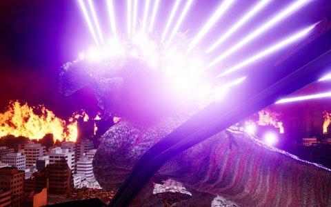 「VR ZONE OSAKA」に圧倒的な破壊力をVRで体験できる「ゴジラ VR」が先行稼働!